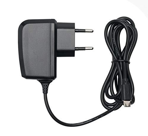 Slabo Ladegerät Micro USB Tablet Netzteil - 1000mAh - für Amazon Fire Kids Edition | 7 Kids Edition | HD 8 Kids Edtion | etc. - SCHWARZ