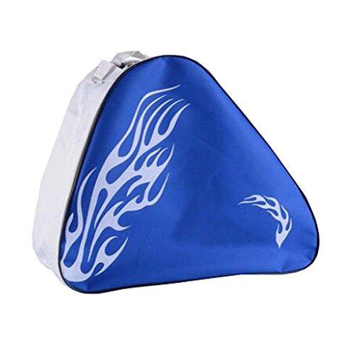 Black Temptation Skate Bag - Sac pour Transporter des Patins à Glace, Patins à roulettes, Patins à Roues alignées pour Enfants/Adultes, D