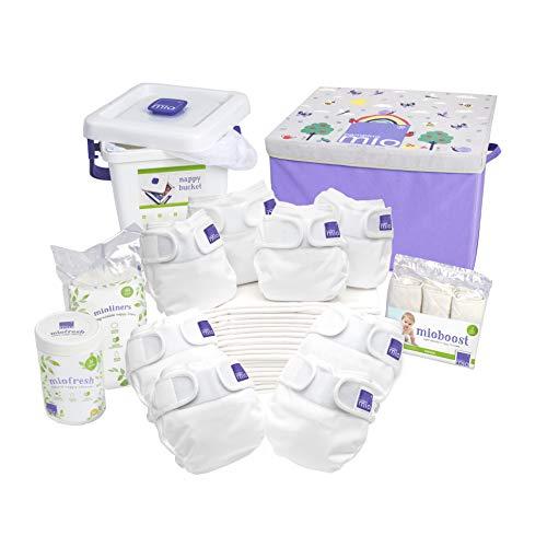 Bambino Mio, mioduo kit premium de la naissance à la propreté, blanc