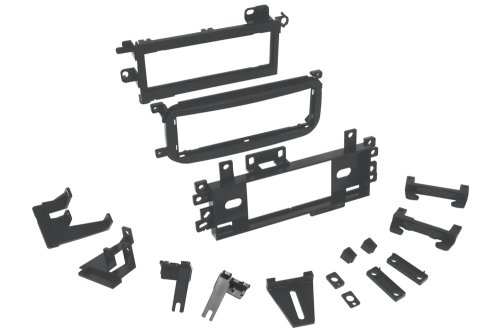 Scosche FCJ1276AB Compatible with Select 1974-07 Chrysler, Ford, Dodge, Plymouth DIN Dash Kit Black