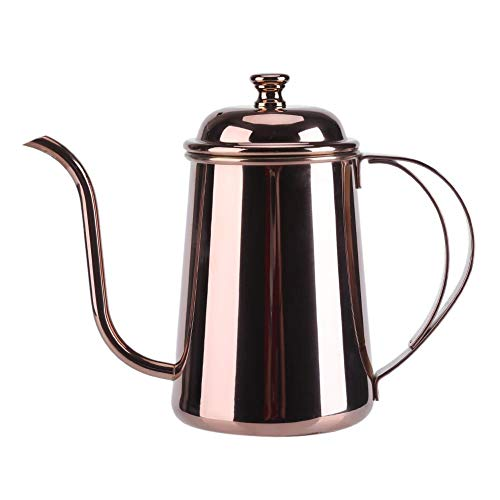 Nimoa Hervidor de café, Acero Inoxidable, Cuello de Cisne preciso, hervidor de...