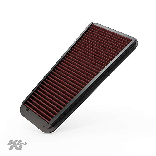 K&N Engine Air Filter: High Performance, Premium, Washable, Replacement Filter: 2002-2015 Toyota Mid-size Truck and SUV V6 (4-Runner, Tacoma, Hilux, Land Cruiser, Prado, FJ Cruiser), 33-2281