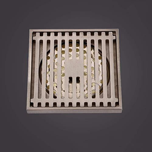 Sifon vloerafvoersifon voor wasmachine, sifon messing, waterbestendig voor de droger, sifon voor badkamer, elk H