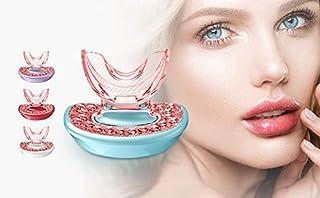 Lip Plumper Device, 48 LED Red ligh Dratal Lip Plumping Machine, Lip Plump Enhancer, Lips Plumping Filler Rechargeable Lig...
