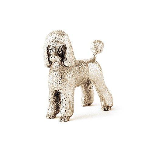 DOG ARTS JP Barbone (Toelettatura Puppy) Made in UK, Collezione Statuetta Artistici Stile Cani