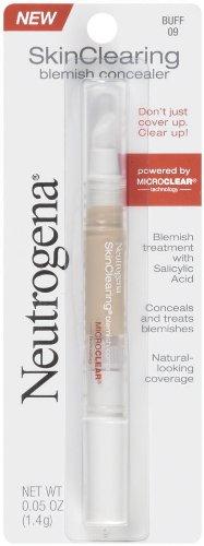 Neutrogena Skinclearing Blemish Concealer, Buff 09,.05 Oz. (Pack of 2)