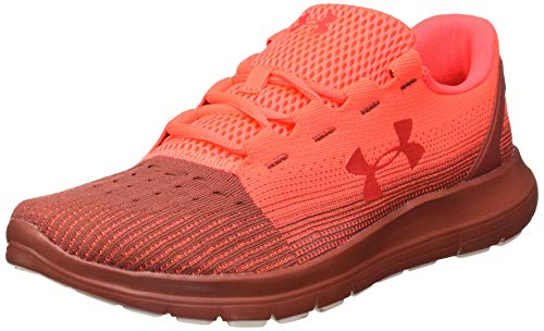 Under Armour Remix 2.0, Zapatillas para Correr de Carretera Hombre, Beta Cinna Rojo Versa 606, 43 EU