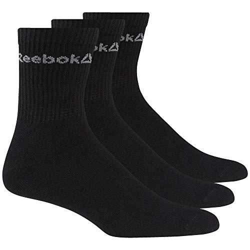 Reebok Act Core Crew Sock 3P Calcetines, Unisex Adulto,