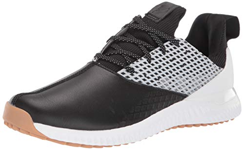 adidas Men's Adicross Bounce 2 Golf Shoe, core Black/Dark Silver Metallic/White, 7 Medium US