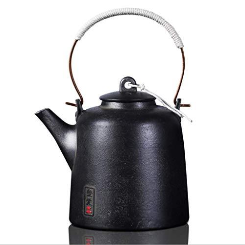 HTD Teekanne Antike Gusseisen Tetsubin Japanische Teekanne Gusseisenteekanne - 1.2L Handmade, Kochende Teekanne, Kochender Wasserkocher, Teekanne, a