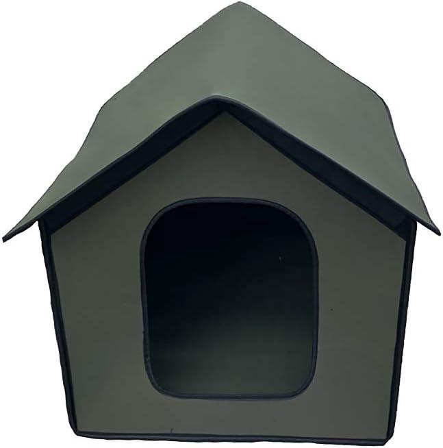 Manufacturer regenerated product Kansas City Mall Blingbin Portable Cat House Te Kitty Warm Waterproof