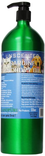 Price comparison product image Iceland Pure Unscented Pharmaceutical Grade Sardine Anchovy Oil For Dogs And Cats.Bottle Size 33Oz