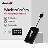 Carlinkit Wireless USB Carplay Dongle Kompatibel Android Autoradio Multimedia Player Unterstützung Funktion Carplay