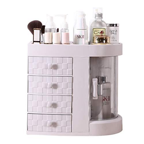 JAY-LONG Organisateurs De Maquillage en Plastique ABS/Boîtes À Cosmétiques avec 4 Tiroirs, Adaptés Aux Fondations De Palettes