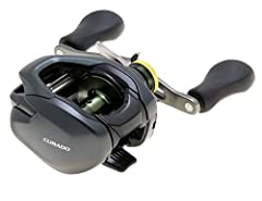 Built tournament tough; this low-profile baitcasting reel is the benchmark for durability and reliability which is why generations of anglers have looked to curado as their trusted partner Featuring shimano's latest technology such as the super smoot...