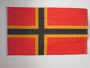 KliKil Bandera Alemania en Polyester Resistente Pack de 2 Banderas Bandera Nacional Alemana para Exterior Tamano 150x90 cm