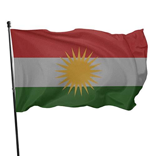 N/A USA Guard Vlag Banner Welkom Vlaggen Bloed KURDISTAN Koerden Koerdische Vlag Poster Yard voor Vakantie Patio Verjaardag Decoratie 3x5 Ft