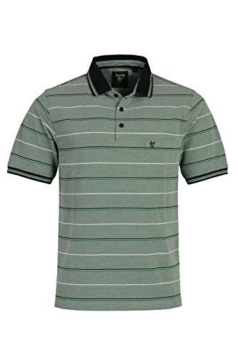 hajo Polo & Sportswear Herren Pikee-Poloshirt in toller Zweitonoptik