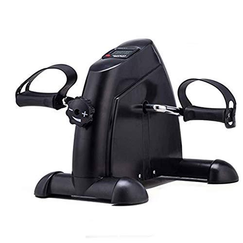 MRZZ Máquinas de Step Pedales Estaticos para Ancianos Ajustable Pantalla Digital Resistance,for Los Ancianos Y Enfermos Artritis Inicio Fisioterapia,Gimnasia Oficina De Hogares Portátil Cubierta