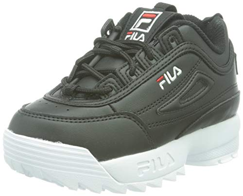 FILA Disruptor kids zapatilla Unisex niños, negro (Black), 31 EU
