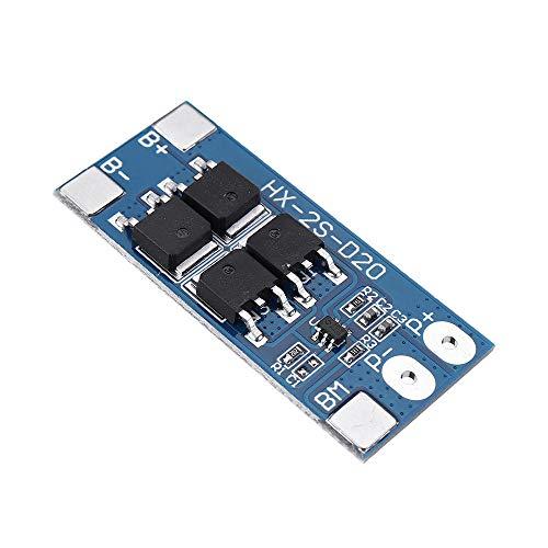 Módulo electrónico 5pcs 2S 7.4V 8.4V 10A 18650 Junta de Protección de la batería de litio Función Equilibrado cobrado de Protección Equipo electrónico de alta precisión