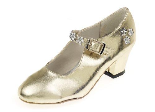Souza for Kids - 8130 - Déguisement - Chaussures Talons Hauts - Or - Taille 30
