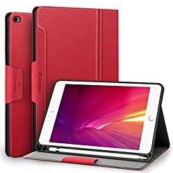 """【Precise Cutout】Designed specially for iPad Mini 5th Generation 7.9"""" 2019 (A2133 / A2124 / A2126 / A2125) / iPad Mini 4th Generation 7.9"""" 2015 (Model NO. A1538, A1550) tablet. Access to all bottons and ports aligned perfectly. 【Built-in Apple Pencil ..."""