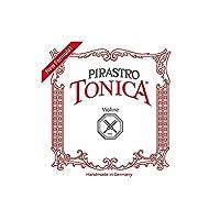 PIRASTRO 412081 TONICA ヴァイオリン弦 バイオリン弦 トニカ 1/16、1/32用 Mittel セット弦 (ピラストロ)