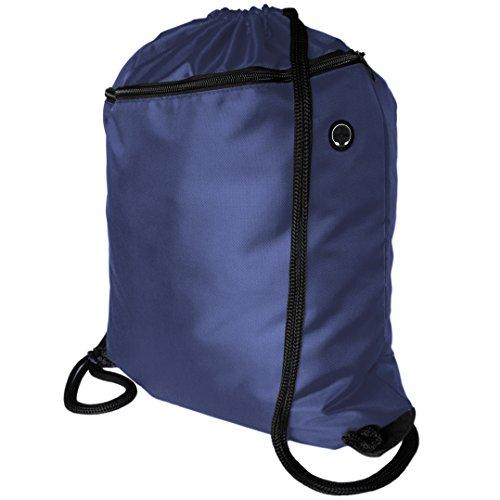Zavalti Very Strong Premium Quality Drawstring Backpack. Adults NO LOGO Gym Bag