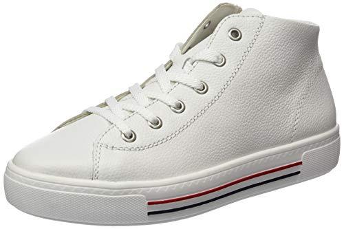 Remonte Damen D0970 Hohe Sneaker, Weiß (Weiss 80), 38 EU