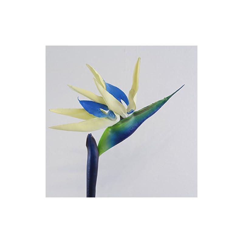 silk flower arrangements artificial flower bird of paradise fake plant silk strelitzia reginae home decor - white