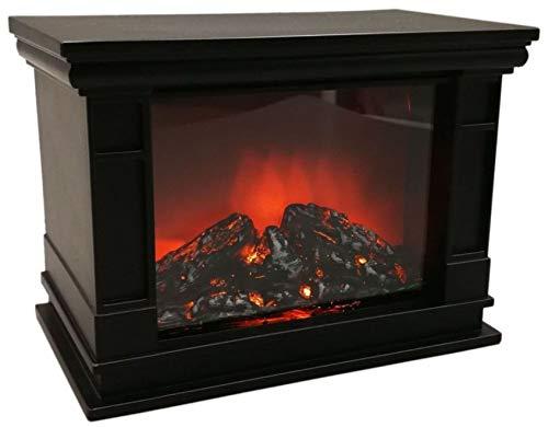 Benson 012170 LED Kamin Laterne mit Flammeneffekt