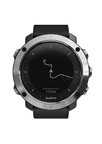 Suunto TRAVERSE Black, Reloj GPS outdoor para excursionismo y senderismo, Hasta 100 h de batería, Sumergible, Negro, SS021843000