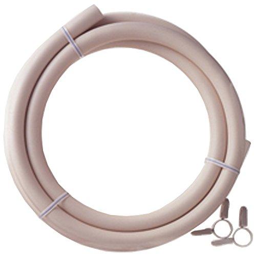 ダンロップ 都市ガス用新ガスソフトコード(内径9.5mm) ホースバンド付き 2m 3376 マルチ