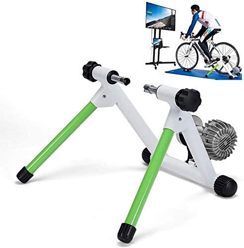 Suge Máquina de ejercicios de montaña de bicicletas Máquina de entrenador de bicicletas Entrenamiento interior Ejercicio de acero inoxidable Bicicleta Magnético Montón Soporte con Reducción Rueda Rued