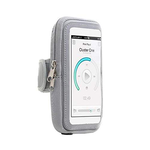 Stastefully Arm-Telefon-Halter für die Ausführung Geeignet für: Iphone6 Puls Samsung Note2 Xiaomi 3 Sony Z3 HTC M8 Huawei M7 Lauf Telefon Armband,Silber