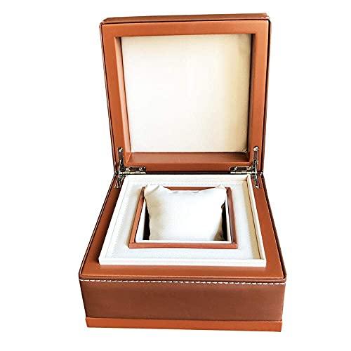 CCAN Caja de joyería Caja de Reloj Caja de joyería Reloj de Cuero Pulsera de joyería Gafas Caja de Almacenamiento de Regalo de joyería