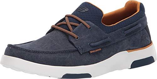 Skechers mens Oxford, Navy, 10.5 W US