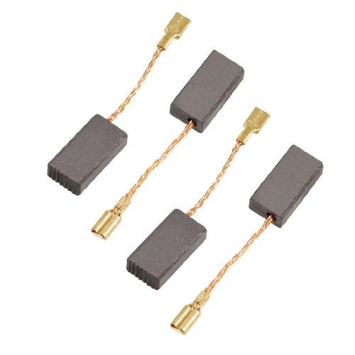 4 piezas Amoladora angular eléctrica 15 mm x 8 mm x 5 mm escobillas de carbono para Motor