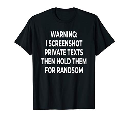 Lustiger Screenshot Computer-Bildschirm Text-Witz T-Shirt