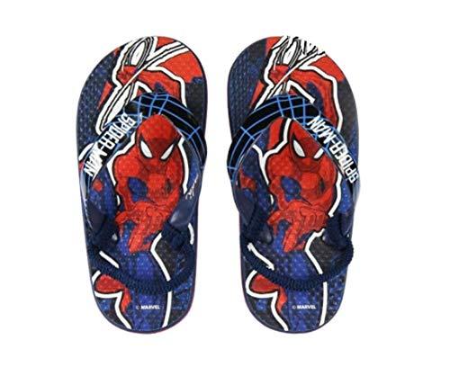 Spiderman Premium Kinder Zehentrenner Flip Badeschuhe Sommerschuhe Sandale Schuhe (Numeric_26)