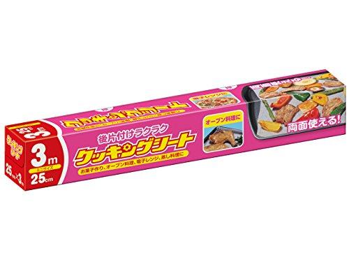 日本製紙クレシア クッキングシートミニ3 1巻