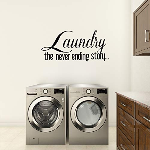 Empresal Laundry Room The Never Ending Story Wall Quote Wall Decals Wall Decals Quotes