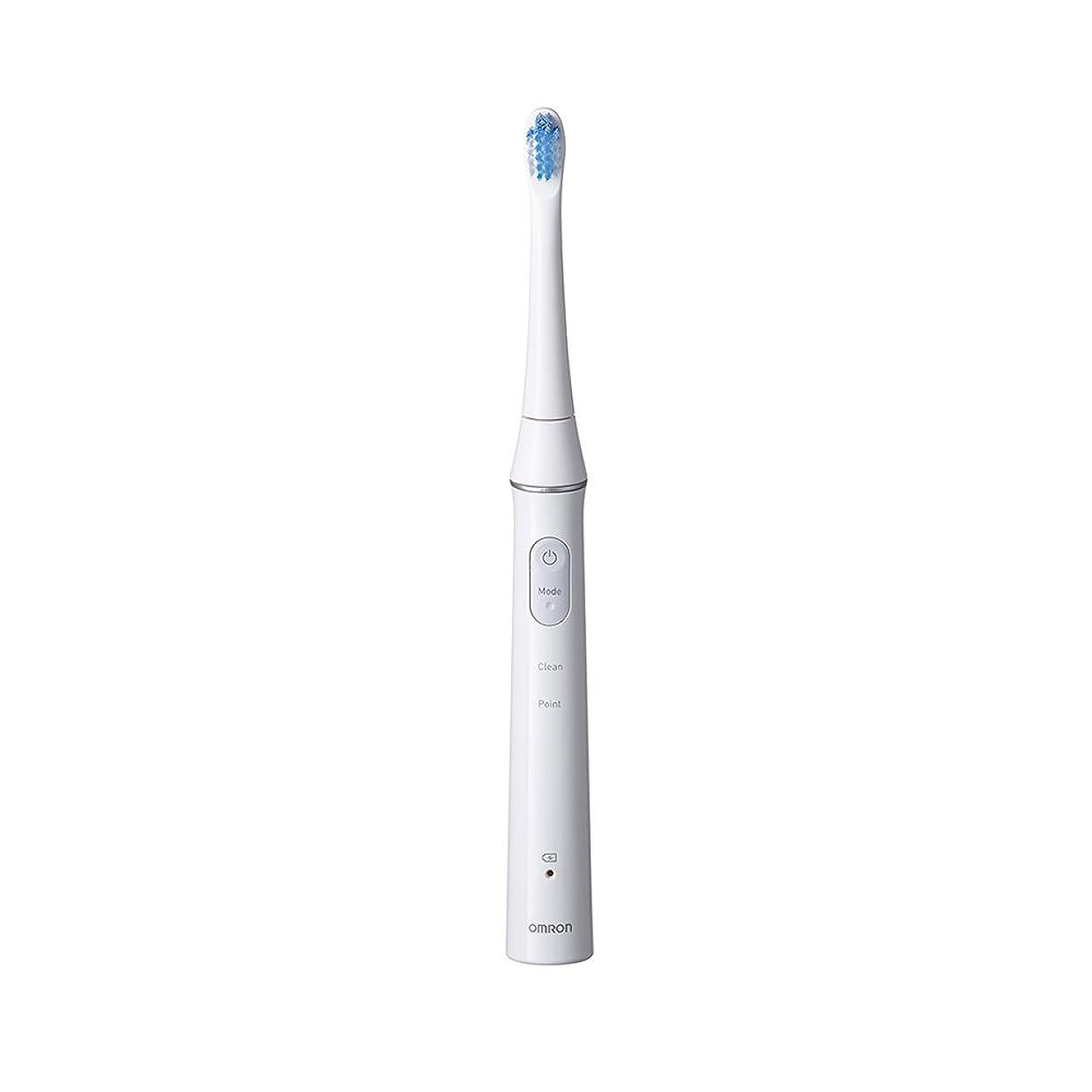 ショートカットさせる羽オムロン 電動歯ブラシOMRON Mediclean(メディクリーン) 音波式 HT-B313-W