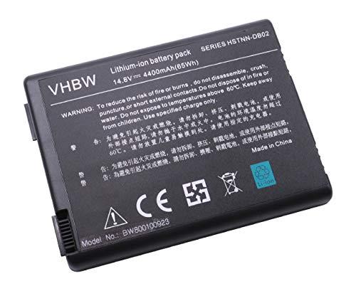 vhbw Akku passend fur Compaq Presario R3000 R3000z R3004US 3004AP DZ358UR DZ358U Laptop Notebook Li Ion 4400mAh 148V 6512Wh schwarz