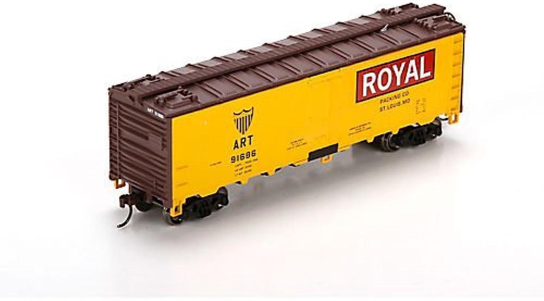 mejor servicio HO HO HO RTR 40' Steel Reefer, Royal  91686 by Athearn  auténtico