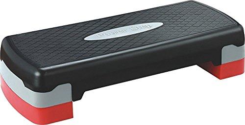 "KLB Sport 27"" Adjustable Exercise Equipment Step Platform with 2 Risers"