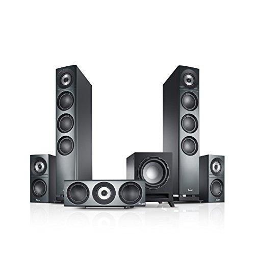 Teufel Definion 3 Surround 5.1-Set Anthrazit Heimkino Lautsprecher 5.1 Soundanlage Kino Raumklang Surround Subwoofer Movie High-End HiFi Speaker
