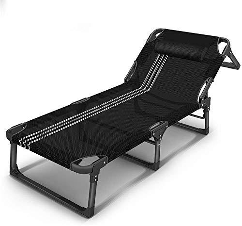 LYDREAM Sedie a Sdraio Sedie a Sdraio Sedie Pieghevoli, Giardino all'aperto Spiaggia sedie a Sdraio con Cuscino Regolabile,B