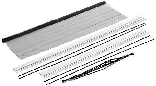hecht international 100690401-VH Fliegengitter Fenster MASTER SLIM 100x120 cm in Weiß, 100 x 120 cm